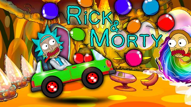 Morty Racing Hill Climb apk screenshot