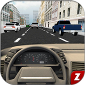 Traffic Car Driving 3D icon