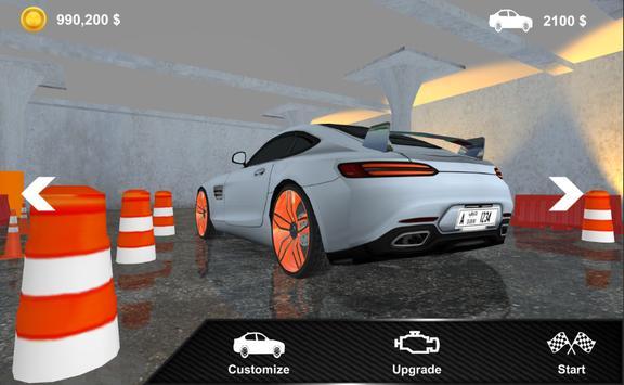 3D Super Car Parking Simulator apk screenshot