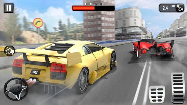 Carrera de Coches Gratis: Coche de Carreras 3D captura de pantalla 10