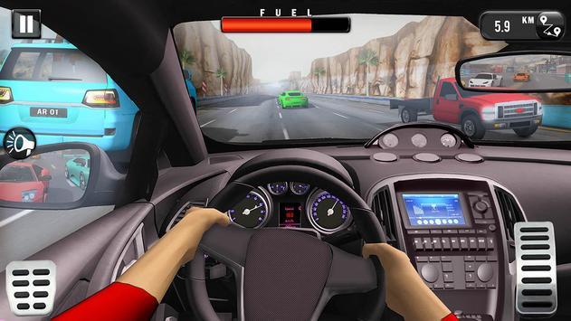 Carrera de Coches Gratis: Coche de Carreras 3D captura de pantalla 1