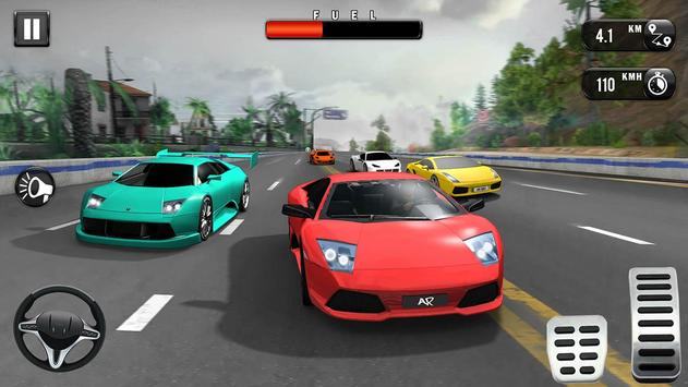 Carrera de Coches Gratis: Coche de Carreras 3D captura de pantalla 2