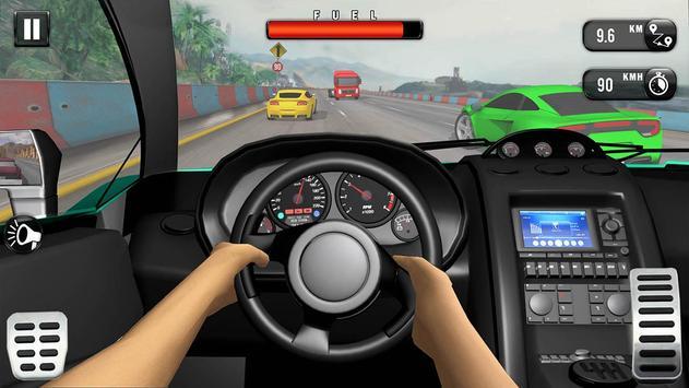 Carrera de Coches Gratis: Coche de Carreras 3D captura de pantalla 3