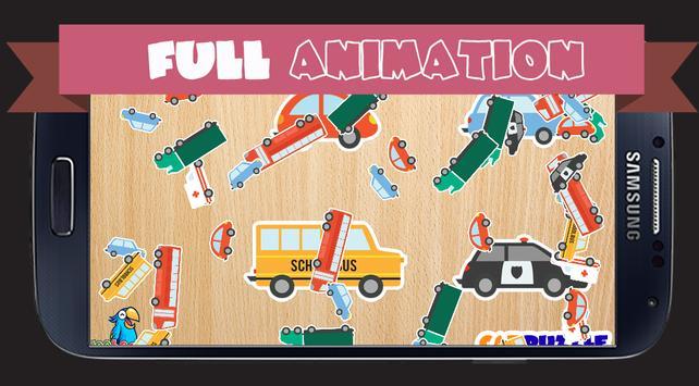 Puzzle Car For Kids screenshot 3