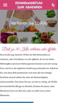 Ernährungsplan zum abnehmen 1