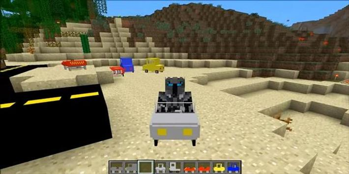 Mod Car for MCPE poster