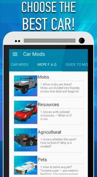 Car Mods for Minecraft PE apk screenshot