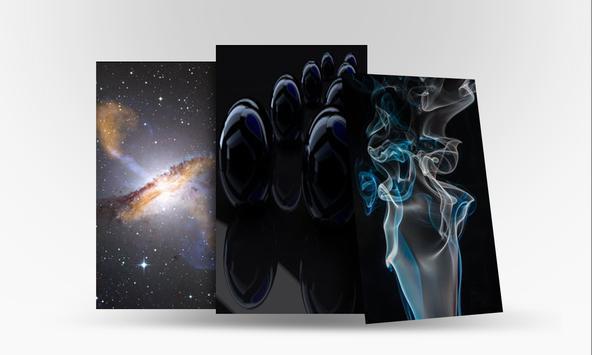 Cool Black Wallpaper HD apk screenshot