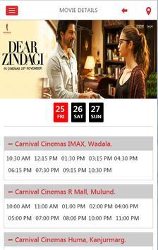 Carnival Cinemas apk screenshot