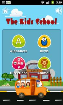 The Kids school (English) apk screenshot