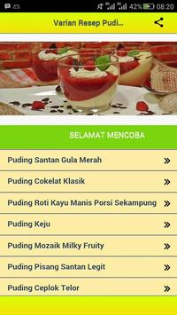 Resep Puding Cake poster