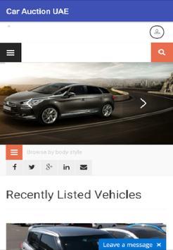 Car Auction UAE poster