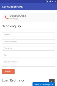 Car Auction UAE apk screenshot