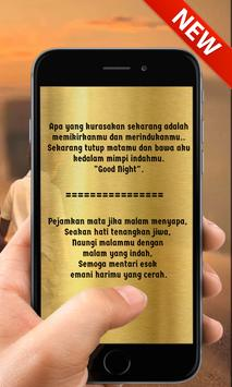 Kata Kata Cinta Ketika Malam Hari Romantis Für Android Apk