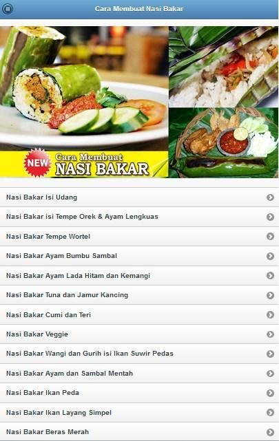 How To Make Nasi Bakar For Android Apk Download
