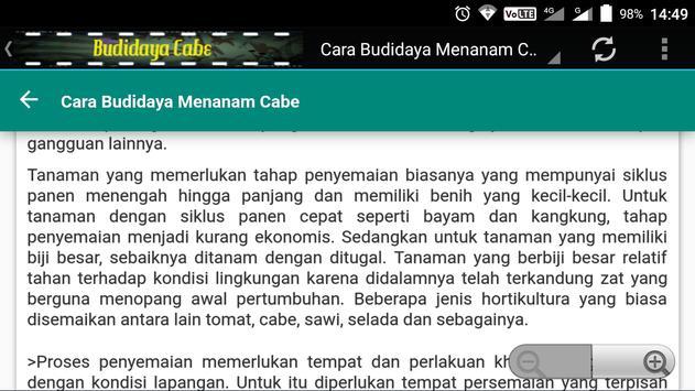 Cara Budidaya Menanam Cabe screenshot 5