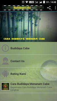 Cara Budidaya Menanam Cabe screenshot 1