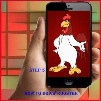 How to Draw a Rooster screenshot 4