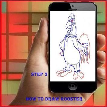 How to Draw a Rooster screenshot 2