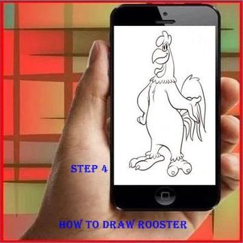 How to Draw a Rooster screenshot 3