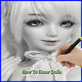 How To Draw a Doll icon