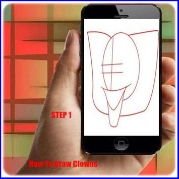 How to Draw a Clown poster