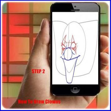 How to Draw a Clown apk screenshot