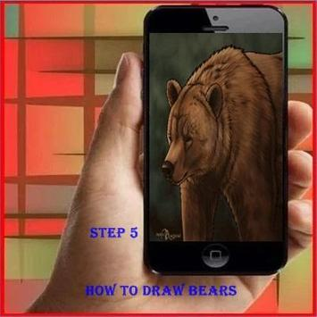 How To Draw A Bears apk screenshot