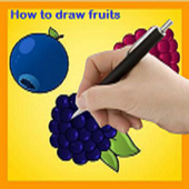 How to Draw Fruit icon
