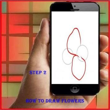 How To Draw Flower screenshot 1