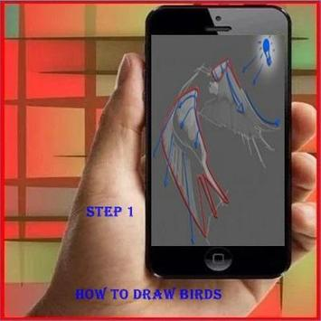 How To Draw a Bird poster