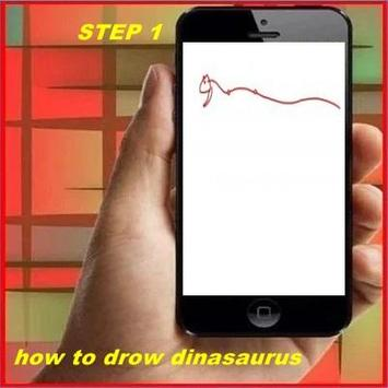How to Draw Dinosaur poster