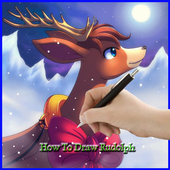 How to Draw a Deer icon
