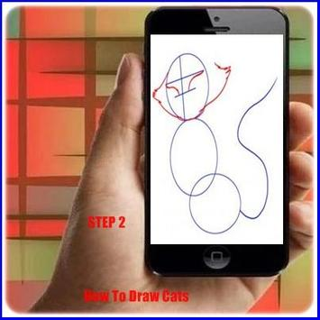 How to Draw a Cute Cat apk screenshot