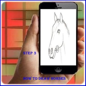 How to Draw a Horse apk screenshot