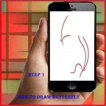 How To Draw a Butterfly poster