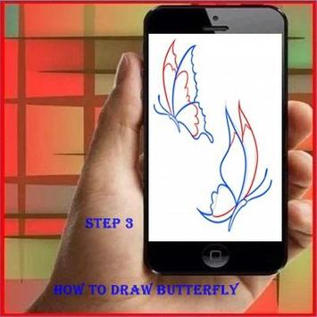 How To Draw a Butterfly apk screenshot