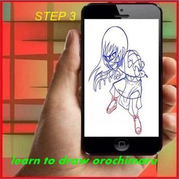 How to Draw Orochimaru screenshot 2