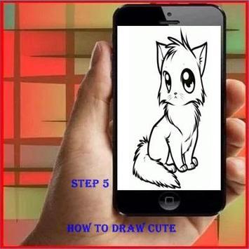 How To Draw Cute apk screenshot
