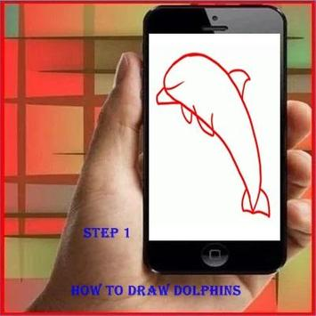 How to Draw a Dolphin poster