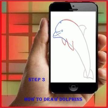 How to Draw a Dolphin screenshot 2