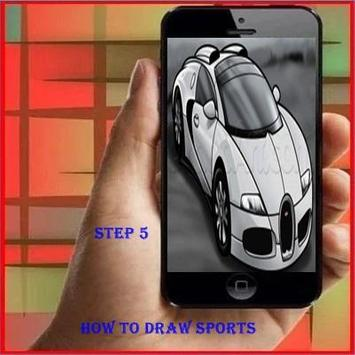 How to Draw a Sports Car apk screenshot