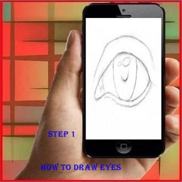 How to Draw an Eye poster