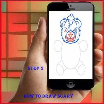How To Draw Scary screenshot 2