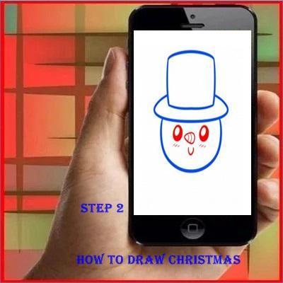 Drawing Christmas poster