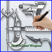 How To Draw Weapon icon