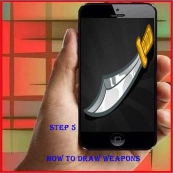 How To Draw Weapon apk screenshot