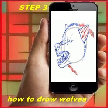 How to Draw a Wolf apk screenshot