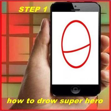 How to Drow Super Hero poster