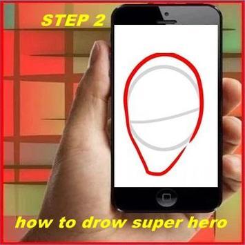 How to Drow Super Hero apk screenshot